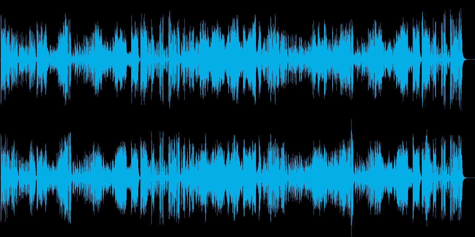 ハイドンのピアノソナタ(第37番)ニ長調の再生済みの波形