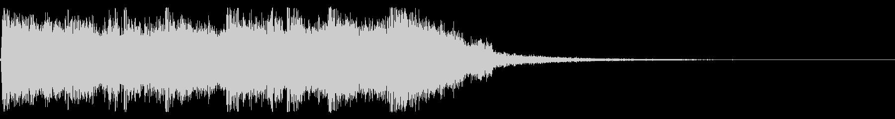 クイズ用ジングル「正解!」の未再生の波形