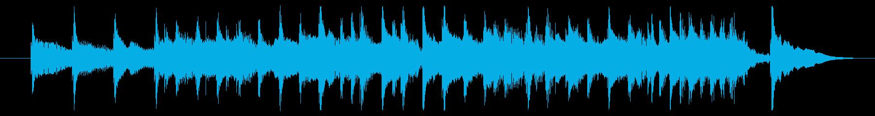コミカル/どたばた/シンキングタイムの再生済みの波形