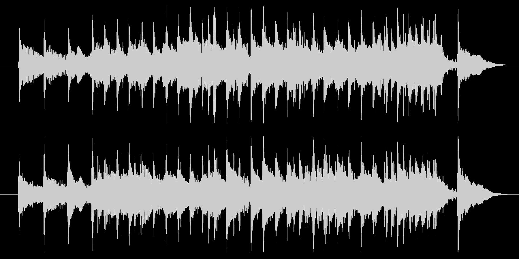 コミカル/どたばた/シンキングタイムの未再生の波形