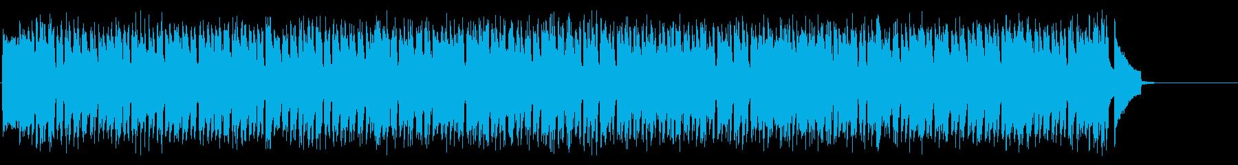 元気で軽快なコミカル風ポップ・サウンドの再生済みの波形