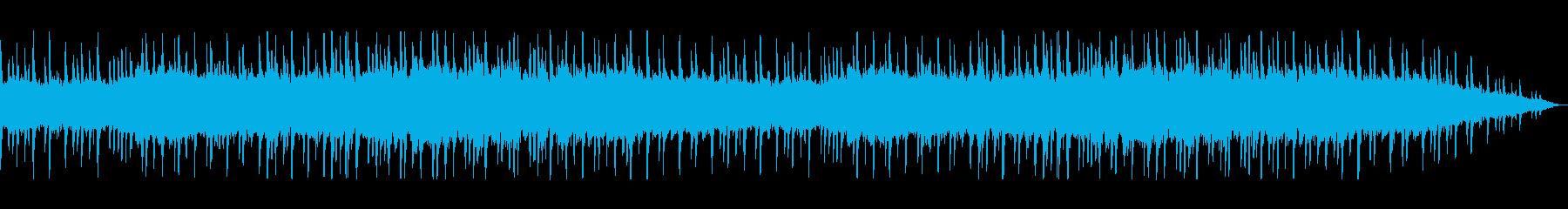 幻想的で落ち着く和風ミュージックの再生済みの波形