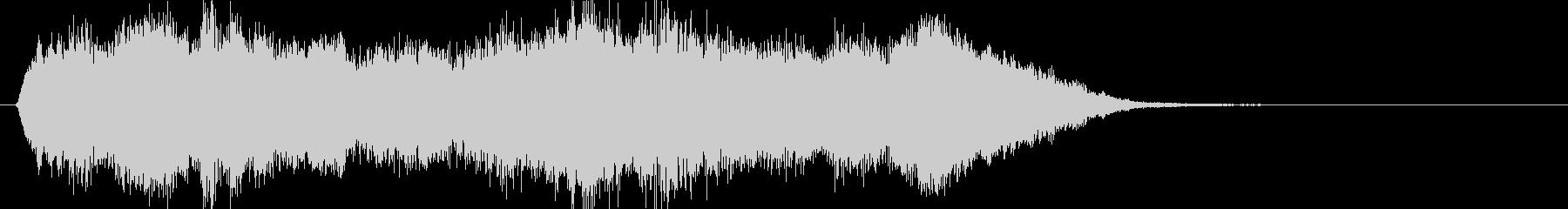 壮大なハリウッド系オーケストラのロゴ2の未再生の波形