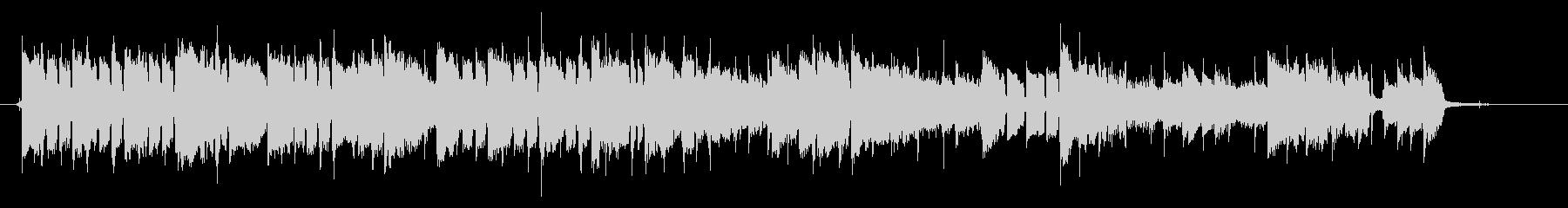 和風で切ないスローバラード、CMサイズの未再生の波形
