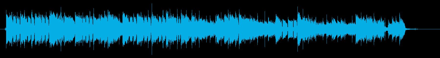 和風で切ないスローバラード、CMサイズの再生済みの波形