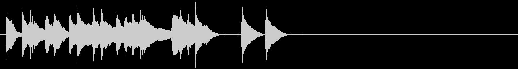 キラキラで可愛いポップなBGM の未再生の波形