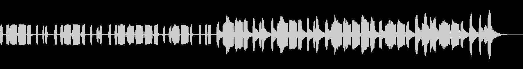 KANT可愛いハッピーバースデー1の未再生の波形