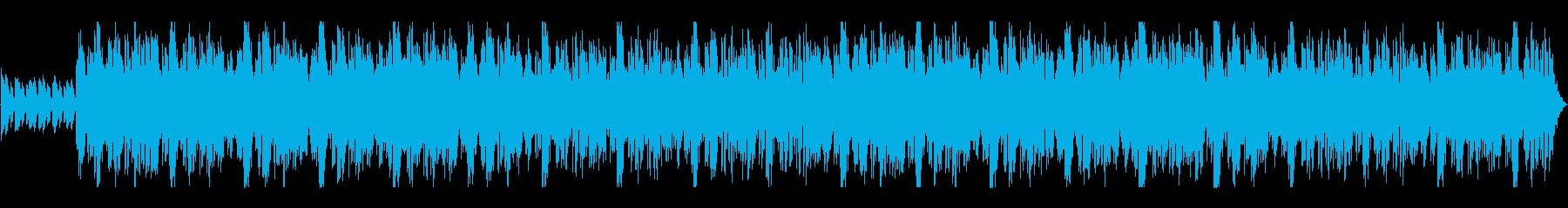 明るいストリングスの曲 春の再生済みの波形