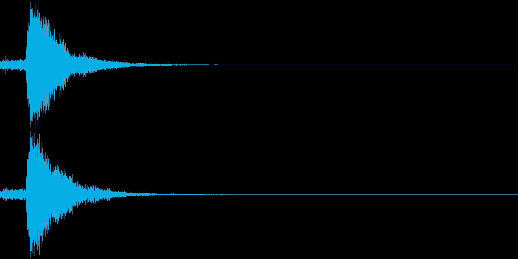 刀 キーン 剣 リアル インパクト Rの再生済みの波形