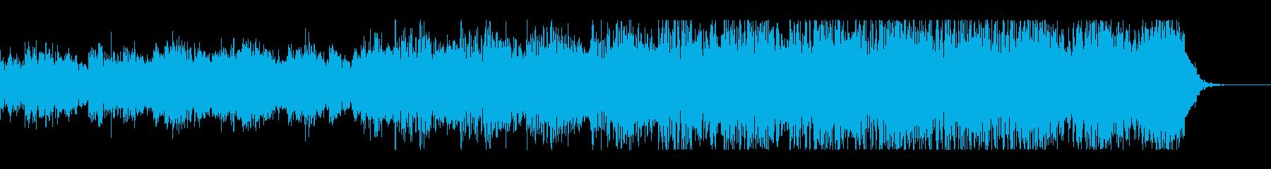 トランス感漂うエレクトロニカの再生済みの波形