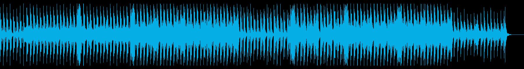 三拍子の可愛いハロウィン曲の再生済みの波形