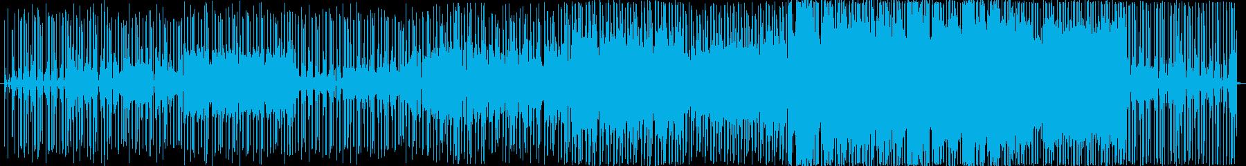 心地よいリズムが揺れるメロウなナンバーの再生済みの波形