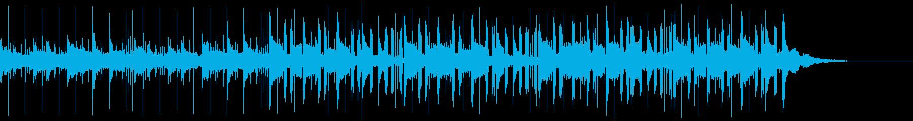 Pf「錯乱」和風現代ジャズの再生済みの波形