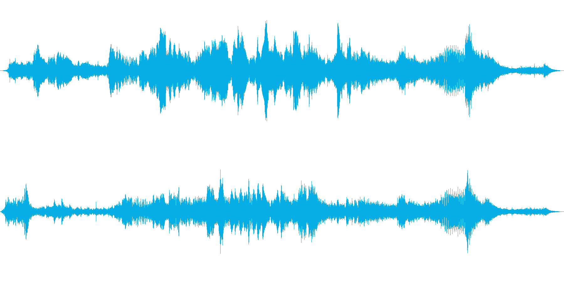 ジャングルイリュージョンミュージカ...の再生済みの波形