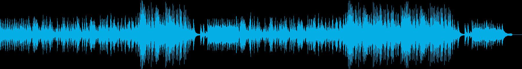 温かく切ない雰囲気 感動系のピアノソロの再生済みの波形