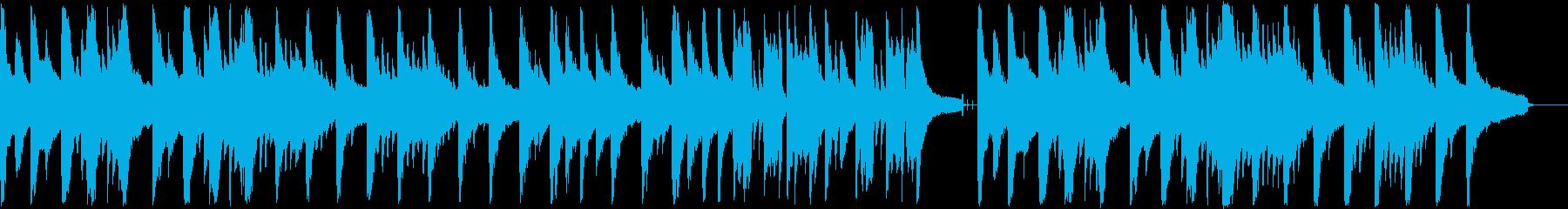 ゆったりリラックスできるピアノジャズの再生済みの波形