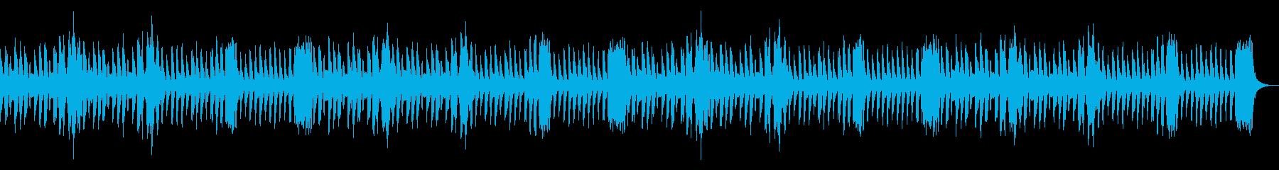 コミカルなほのぼの散歩風。弦とVib.の再生済みの波形