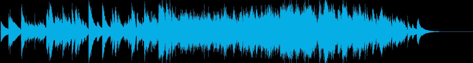 ハープソロ 哀愁 秋 別れ 切ないの再生済みの波形