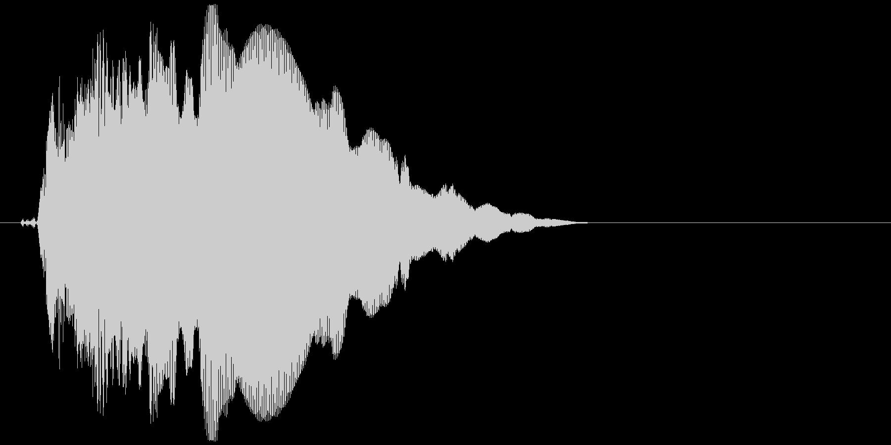キュピーン(ロボット、起動、光る)の未再生の波形