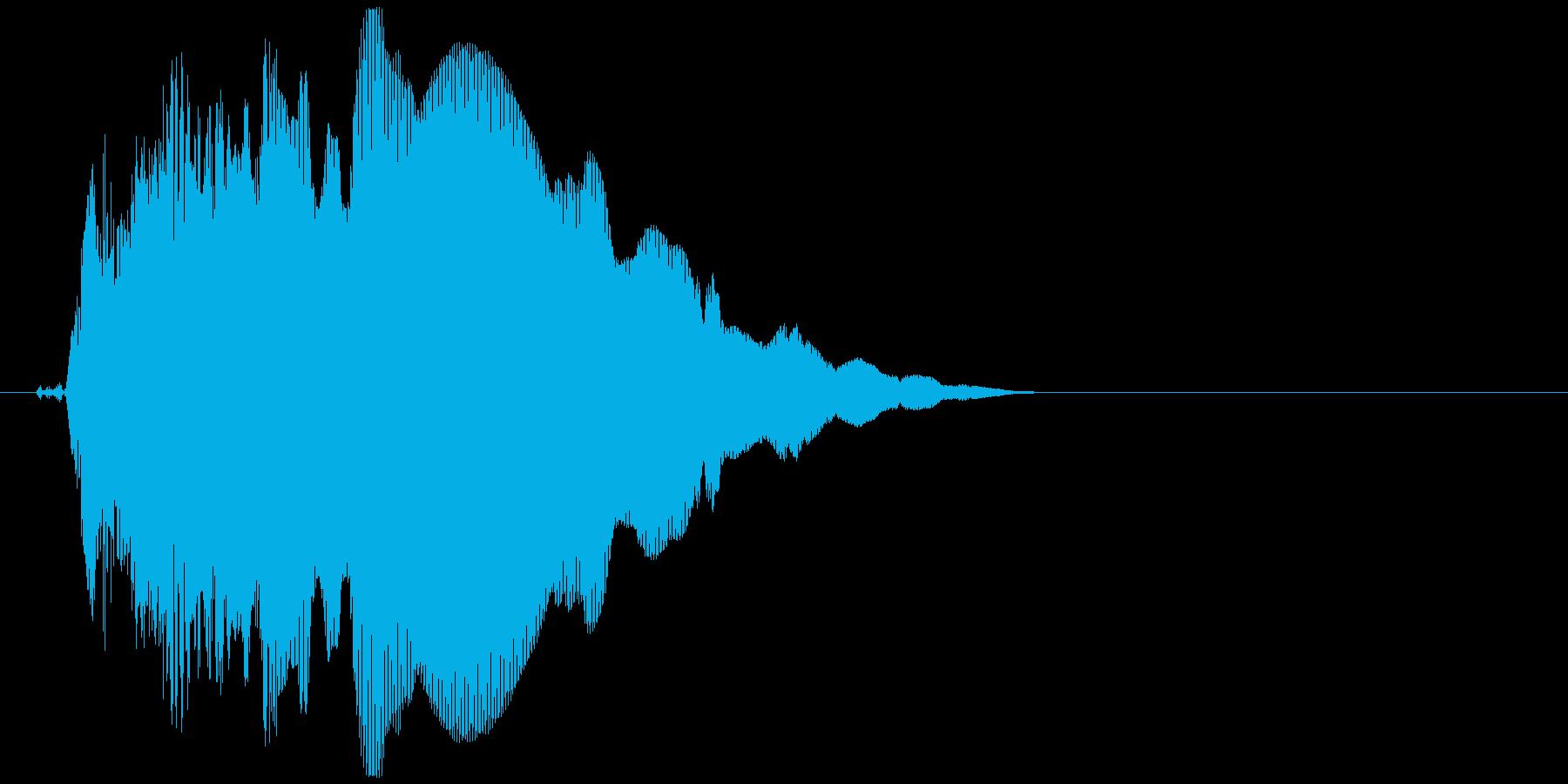 キュピーン(ロボット、起動、光る)の再生済みの波形