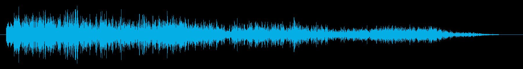 インパクトデジタルブレイクアップの再生済みの波形