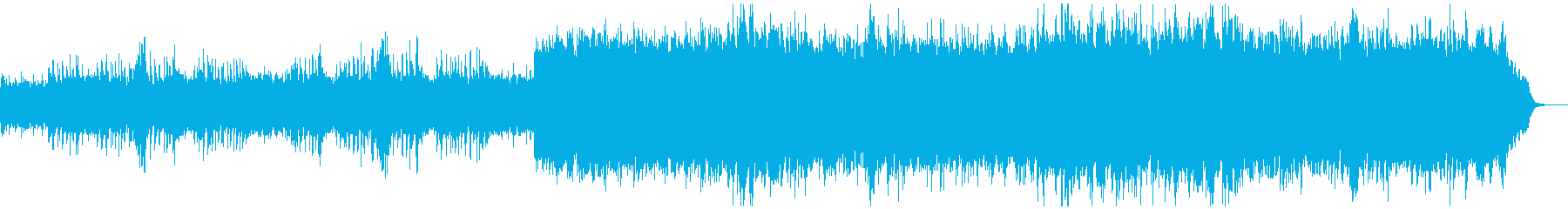 アコースティックギター草原のイメージの再生済みの波形