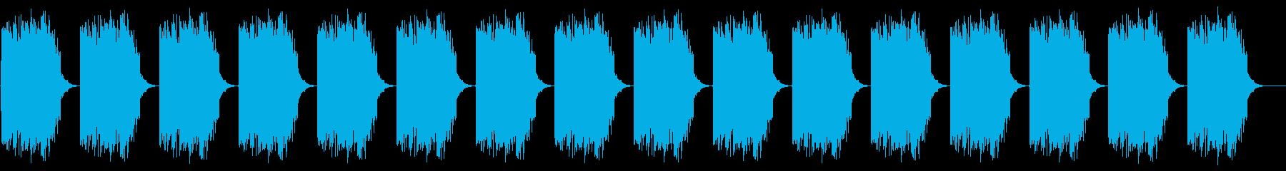 アラート ロング版 警報 警告 注意の再生済みの波形