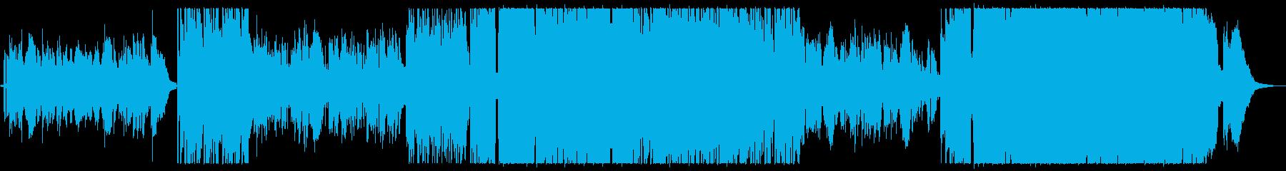 優しい雰囲気のアコギバラードですの再生済みの波形