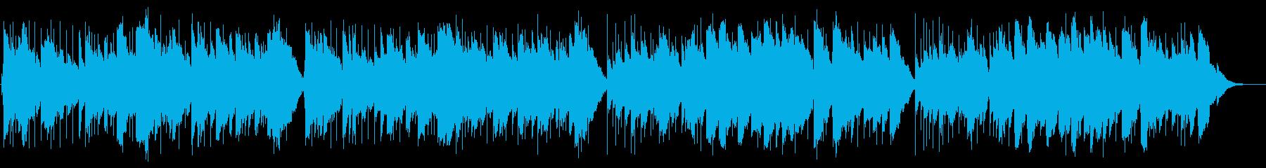 メヌエット・ト長調のオルゴールアレンジの再生済みの波形