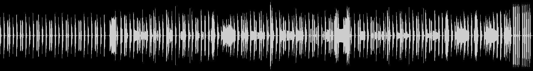 ピタゴラスイッチ風のほっこりしたボサノバの未再生の波形