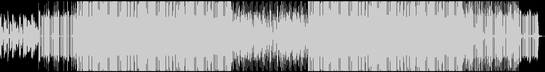 昔っぽい音が特徴的なトラップビートの未再生の波形