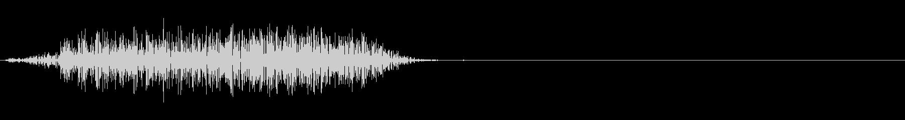 【SE】風切り音ナイフ、ダガー等02の未再生の波形
