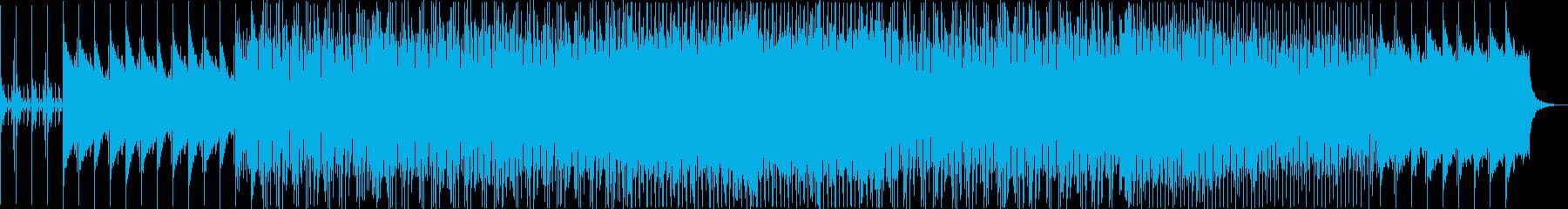 シンセサイザー、遊び心のあるベース...の再生済みの波形