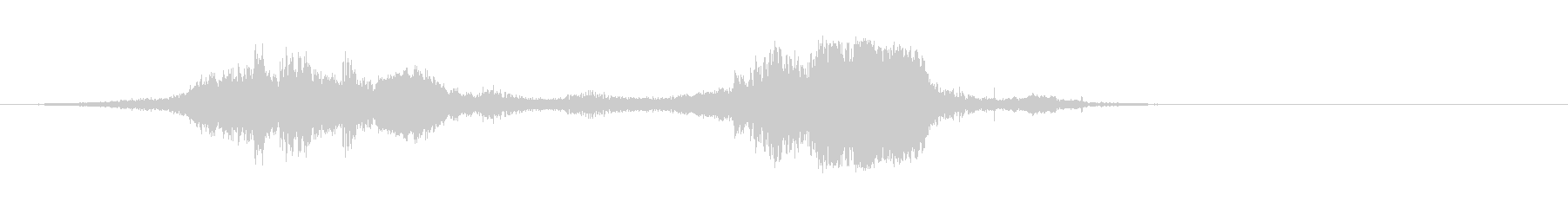 カートインディカー;イントゥターン...の未再生の波形