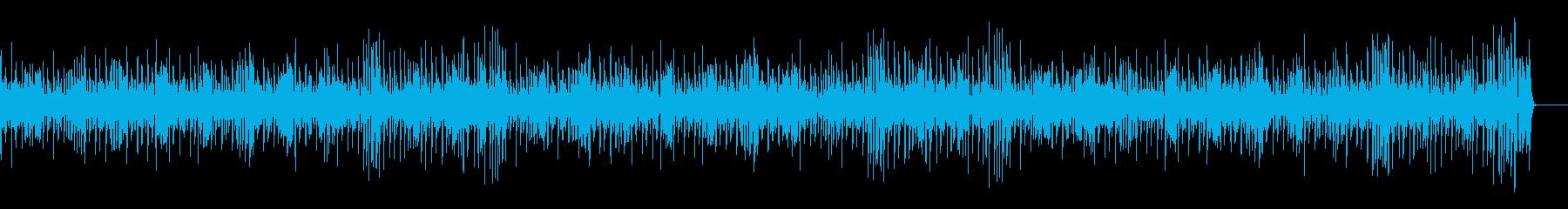 軽快でノリノリなジャズBGMの再生済みの波形