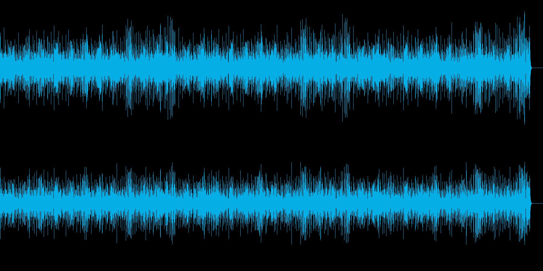 軽快でノリのいいBGM向けジャズの再生済みの波形