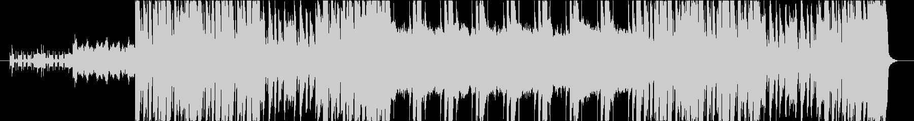 エレクトリック&弦楽器のアッパーチューンの未再生の波形