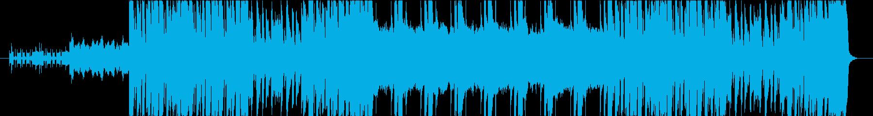 エレクトリック&弦楽器のアッパーチューンの再生済みの波形