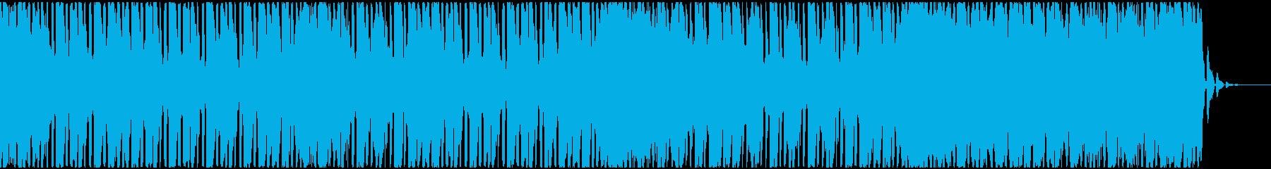 【EDM】トランス、ミディアム2の再生済みの波形