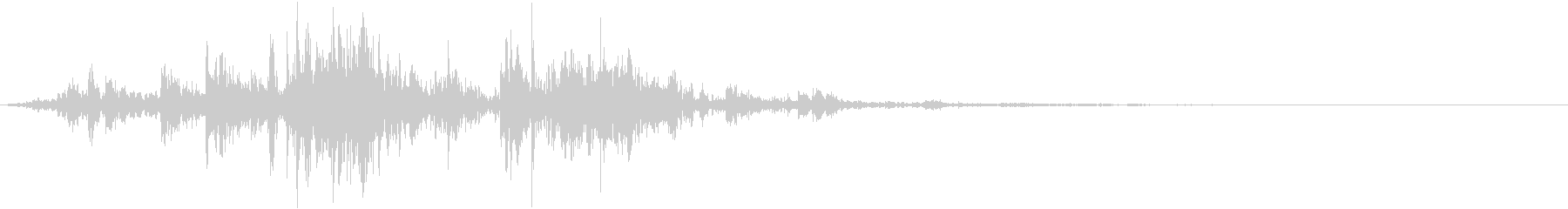 鎖を動かす音12【短い】の未再生の波形