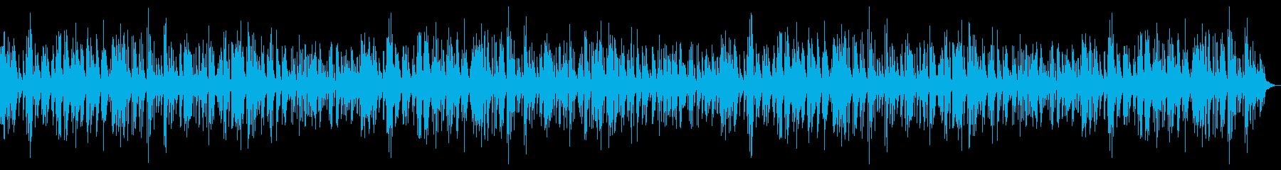 まったり ピアノジャズ の再生済みの波形