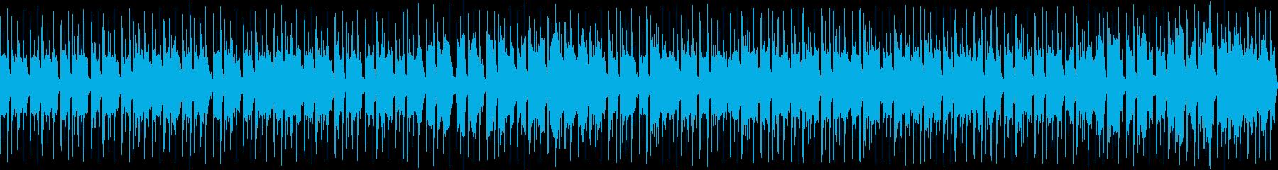 孤独で不安定なサウンド【ループ仕様】の再生済みの波形