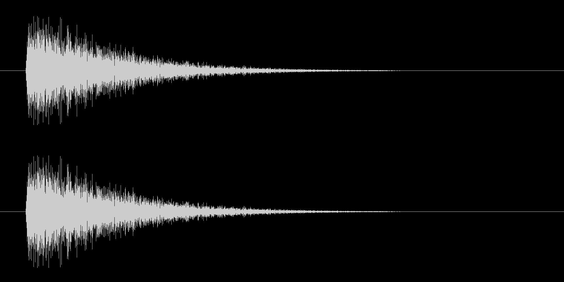 レーザー音-08-3の未再生の波形