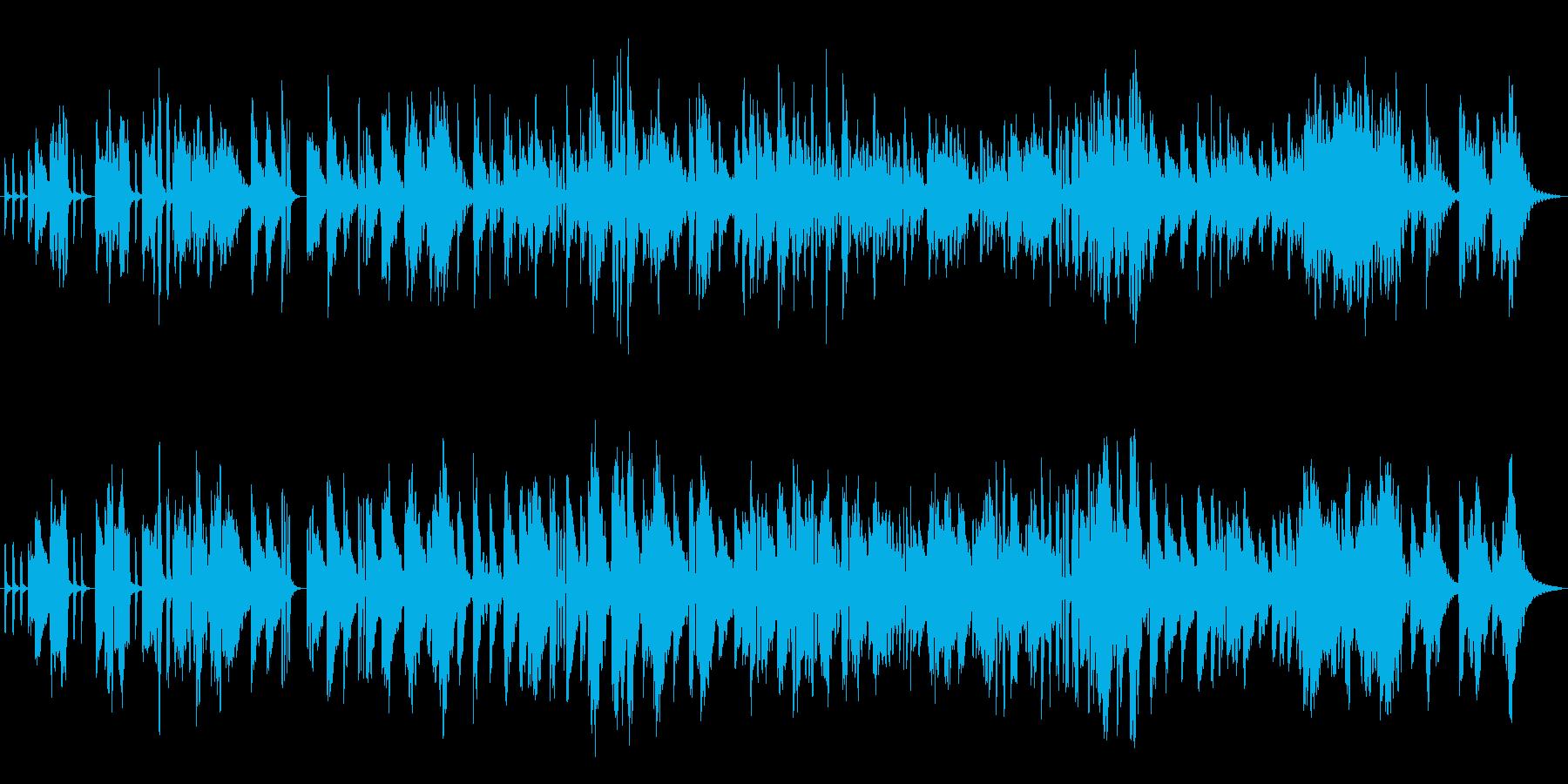 エレピ独奏曲です。24bit,48kH…の再生済みの波形
