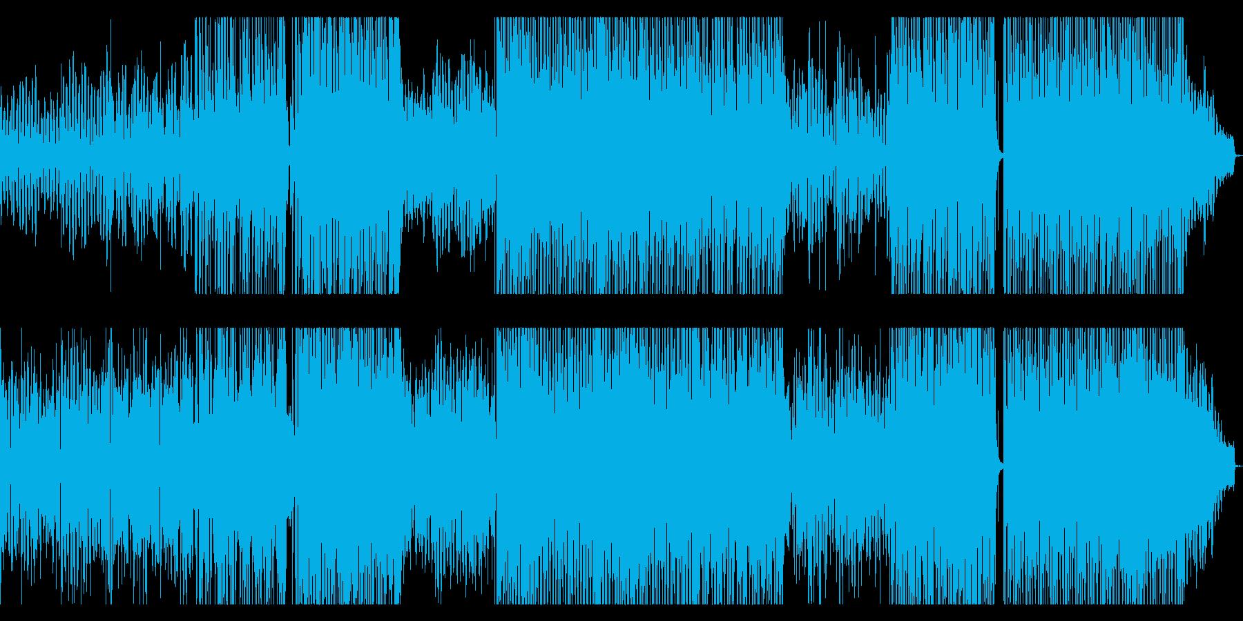 「幸せ」がテーマのアコギバラードの再生済みの波形