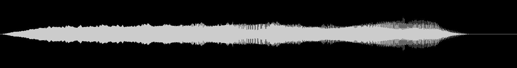 TVFX テンションDown↓↓ SE1の未再生の波形