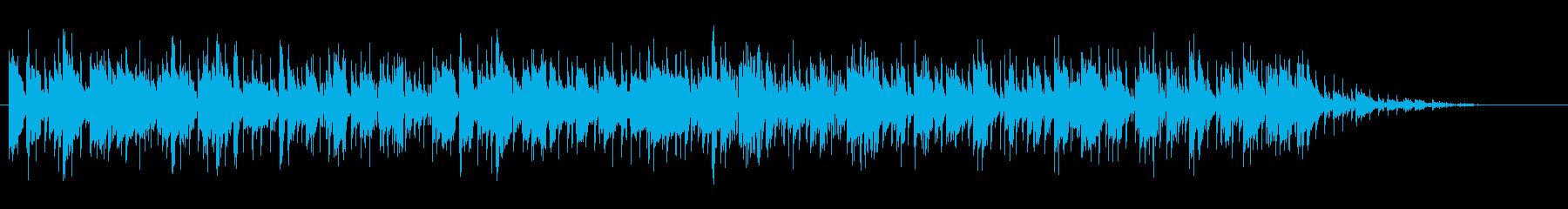 へんてこなワルツの再生済みの波形