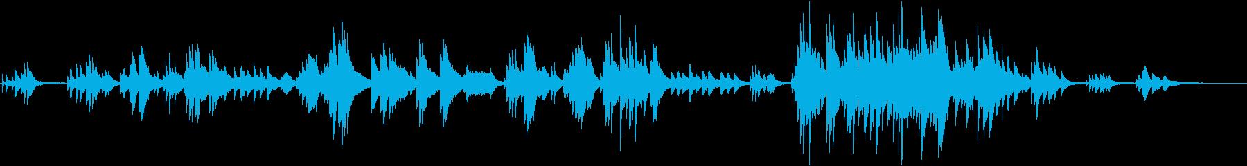 しっとり切ない アンビエントなピアノソロの再生済みの波形