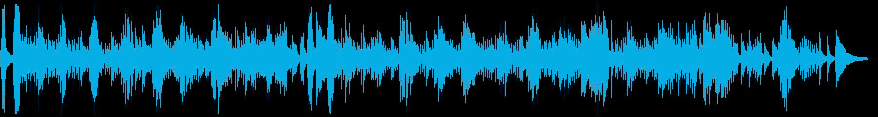 シュールでおもしろ系 悲しみのピアノソロの再生済みの波形