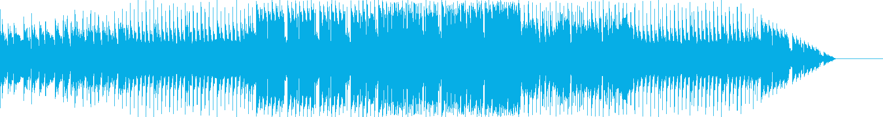 パズルゲームのプレイ画面の再生済みの波形